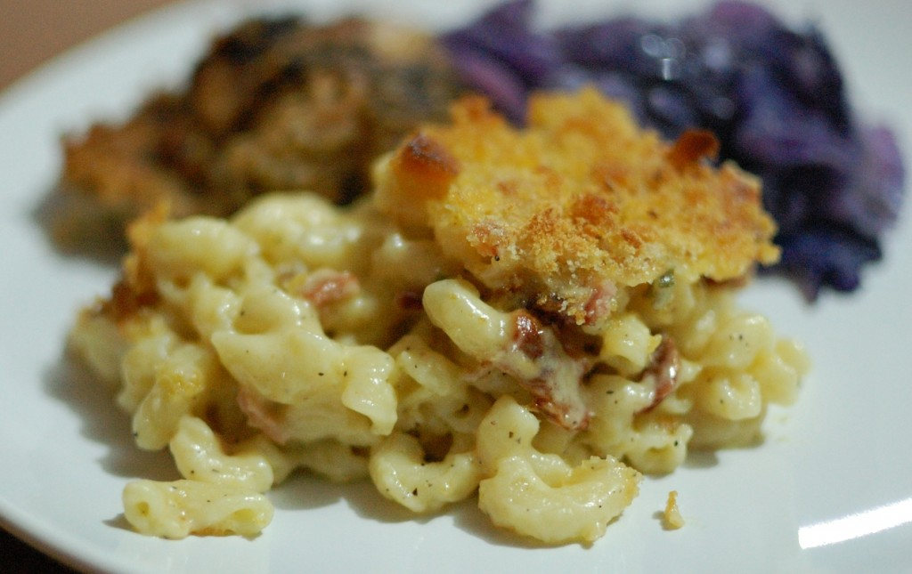 Jalepeno Bacon Macaroni &amp; Cheese