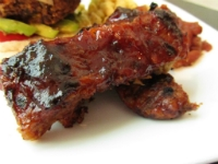 Barbecued Seitan Ribs